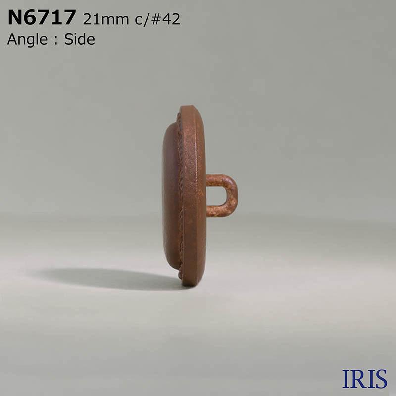 N6717 ナイロン 角カン足ボタン  5サイズ5色展開