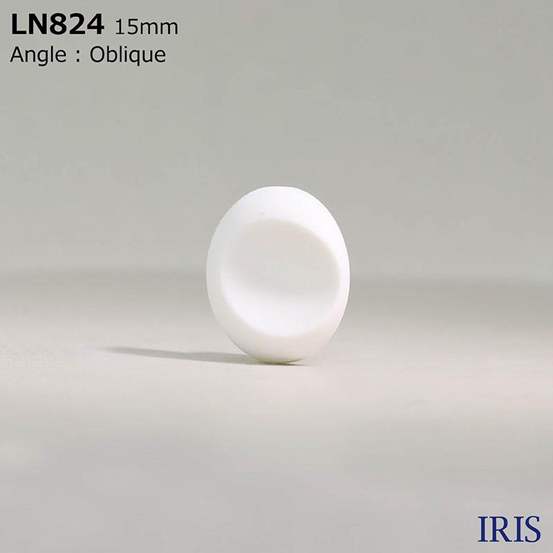 LN824 カゼイン樹脂 棒足ボタン  3サイズ1色展開