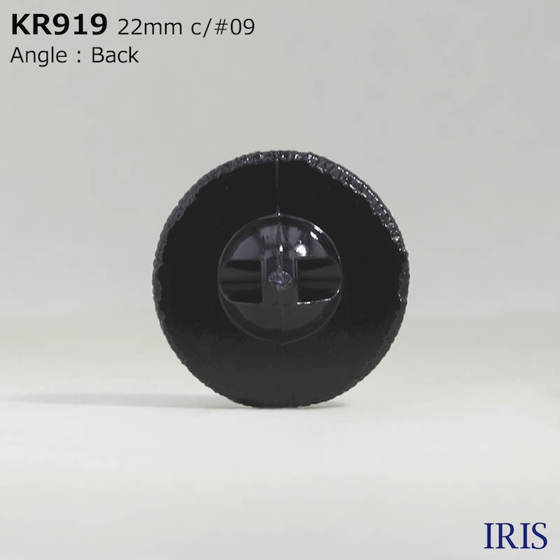 KR919 アクリル樹脂 トンネル足ボタン  1サイズ1色展開