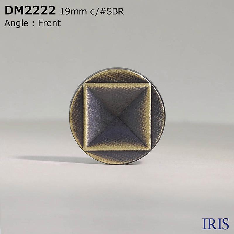 DM2222 ダイカスト 丸カン足ボタン  3サイズ3色展開