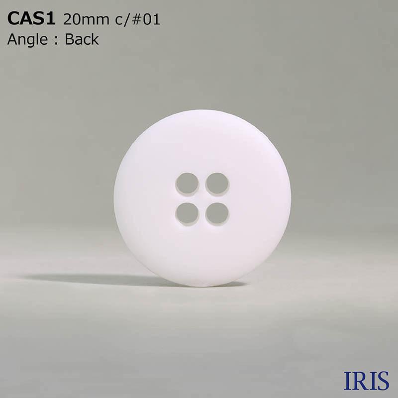 CAS1 ナイロン樹脂 表穴4つ穴ボタン  2サイズ4色展開