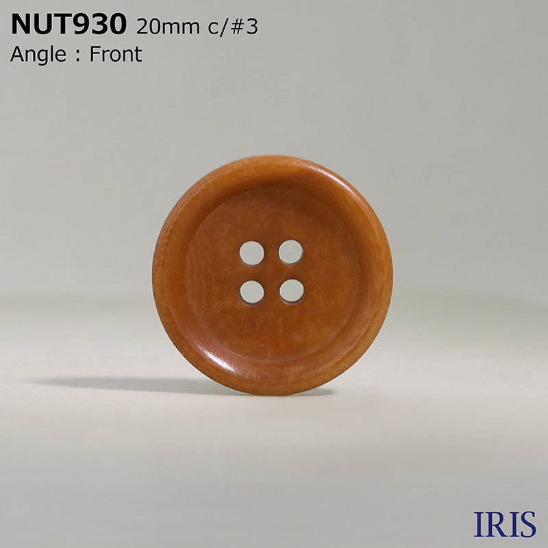 NUT930 ナット 表穴4つ穴ボタン  4サイズ25色展開
