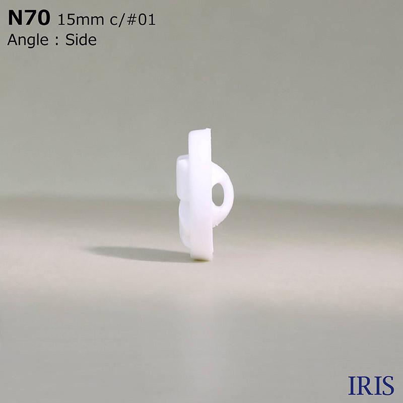 N70 ナイロン樹脂 トンネル足ボタン  3サイズ1色展開
