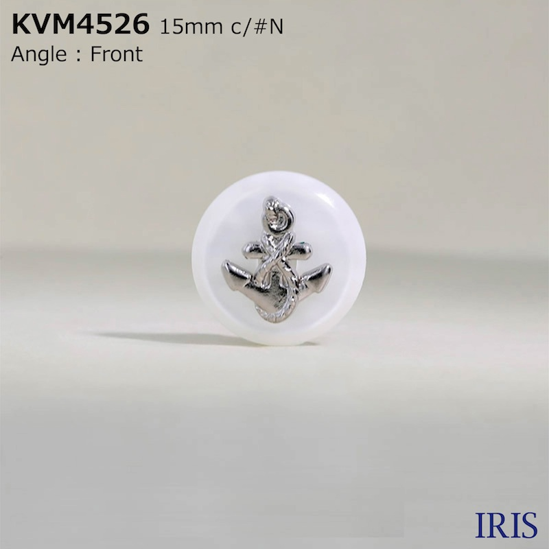 KVM4526 ABS樹脂/ポリエステル樹脂 半丸カン足ボタン  3サイズ1色展開