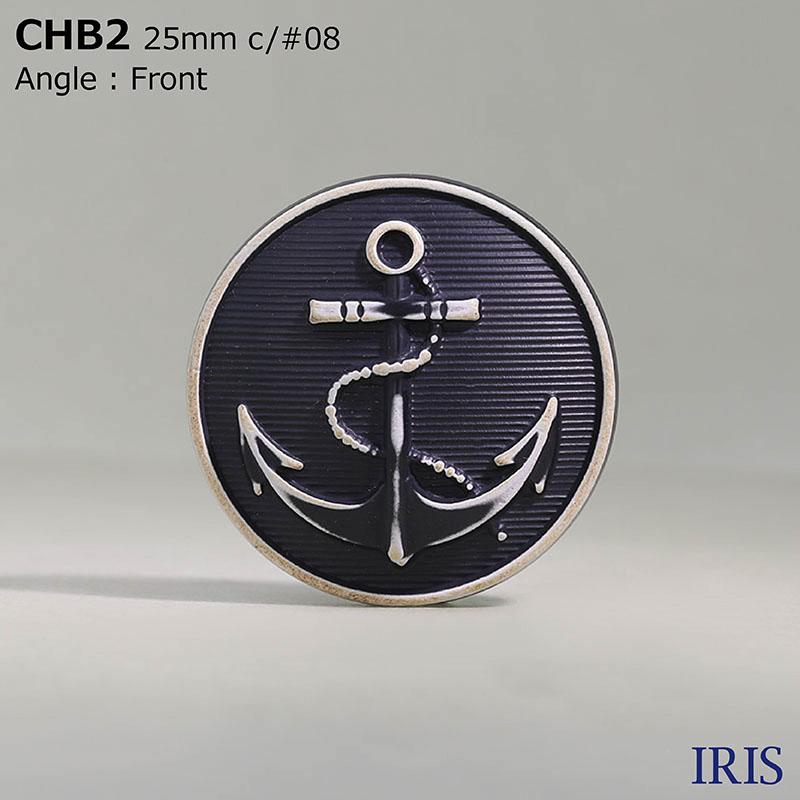 CHB2 ユリア樹脂 棒足ボタン  3サイズ5色展開