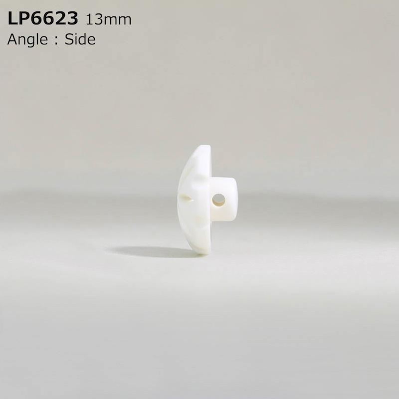 LP6623 カゼイン樹脂 棒足ボタン  4サイズ2色展開