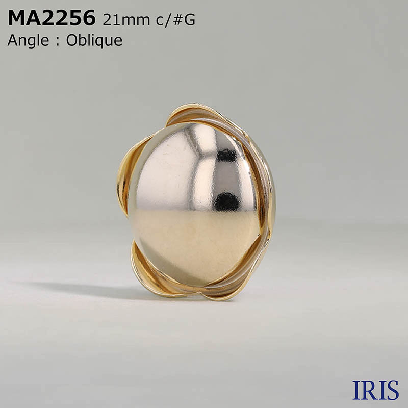 MA2256 真鍮 丸カン足ボタン  3サイズ4色展開