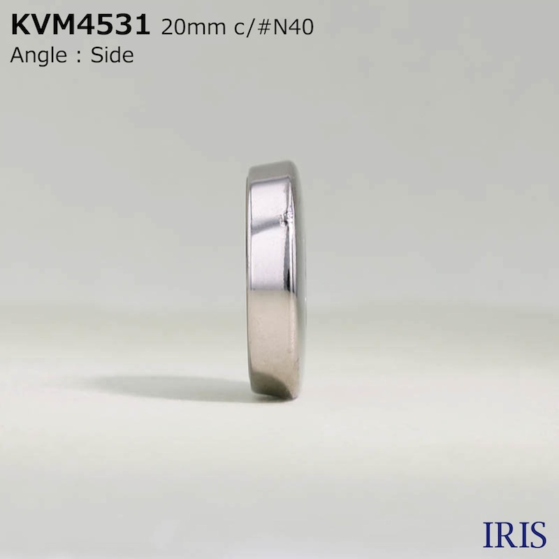 KVM4531 ポリエステル樹脂/ABS樹脂 表穴4つ穴ボタン  4サイズ5色展開