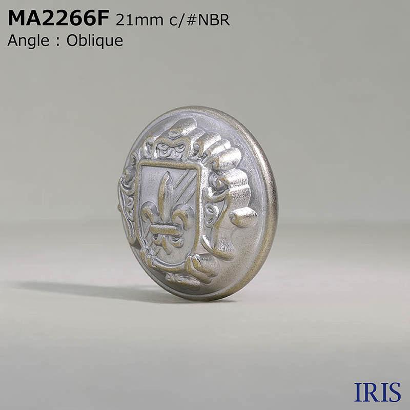 MA2266F 真鍮 丸カン足ボタン  5サイズ5色展開