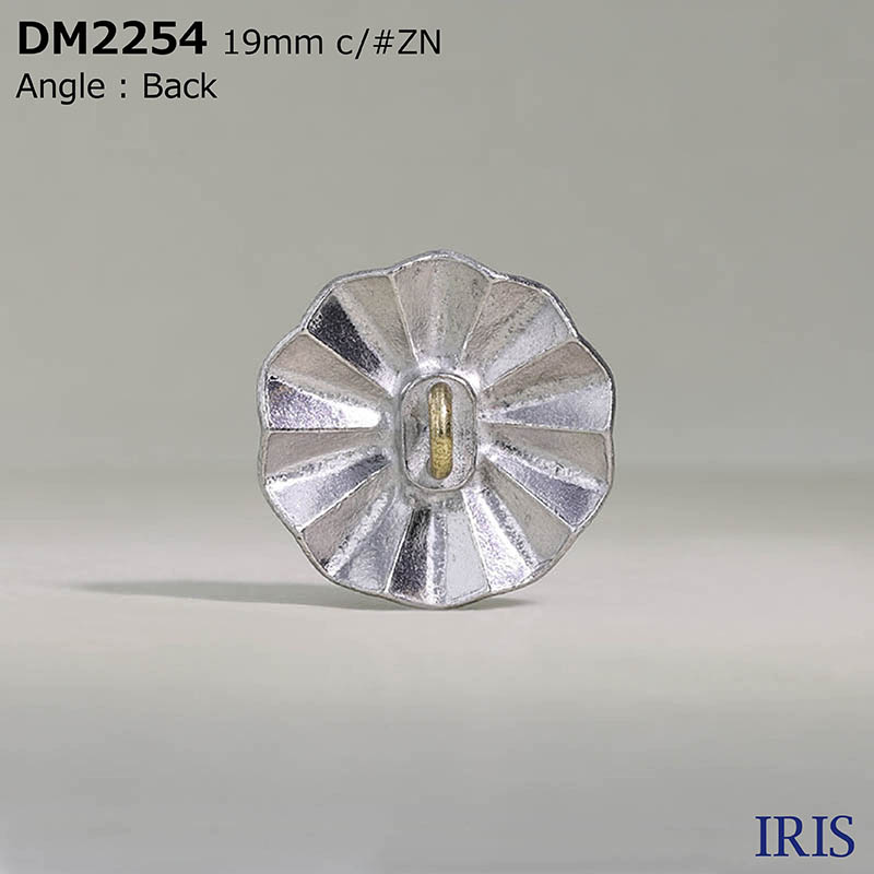 DM2254 ハイメタル/真鍮 丸カン足ボタン  3サイズ1色展開