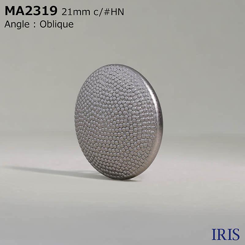 MA2319 真鍮 丸カン足ボタン  4サイズ3色展開