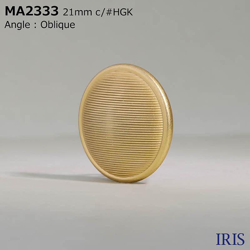 MA2333 真鍮 丸カン足ボタン  5サイズ9色展開