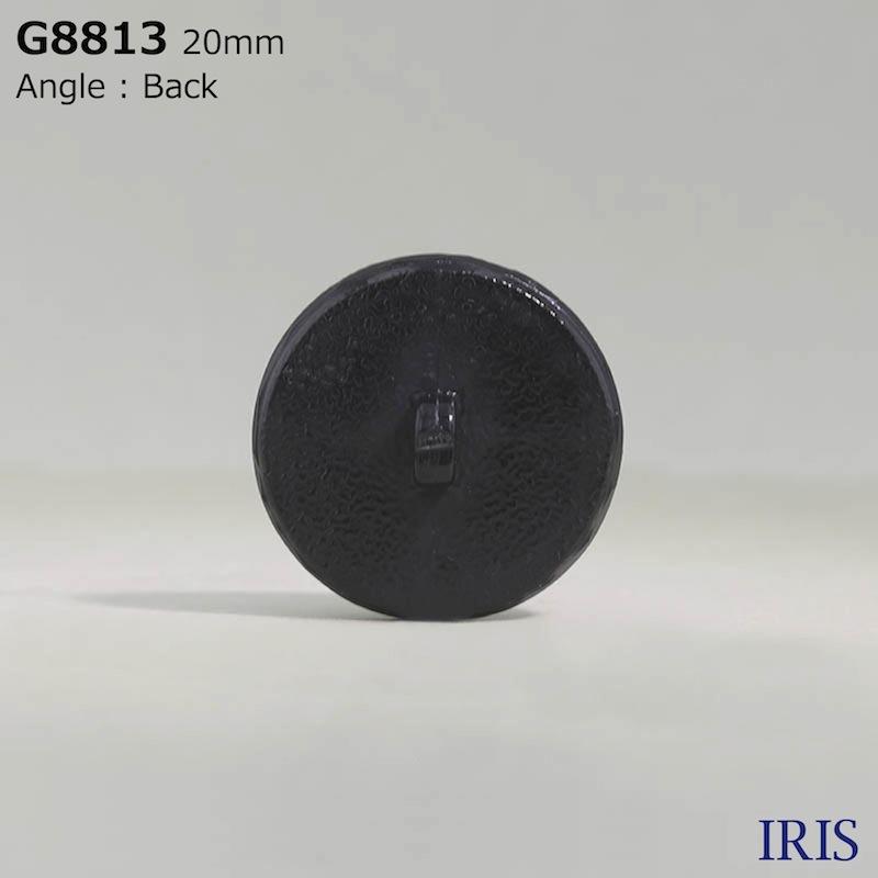 G8813 アクリル樹脂 角足ボタン  5サイズ1色展開