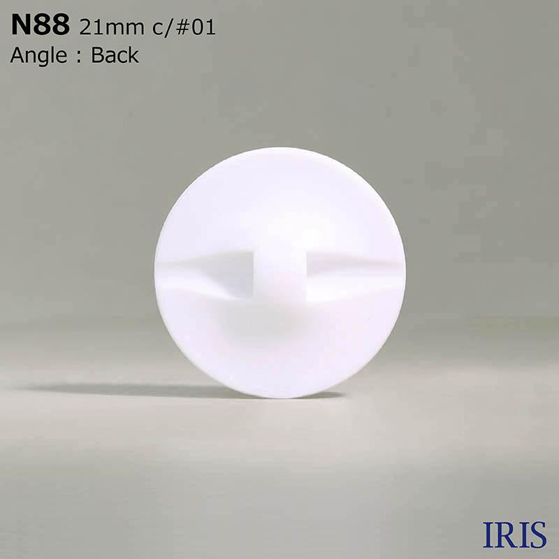 N88 ナイロン樹脂 トンネル足ボタン  4サイズ2色展開