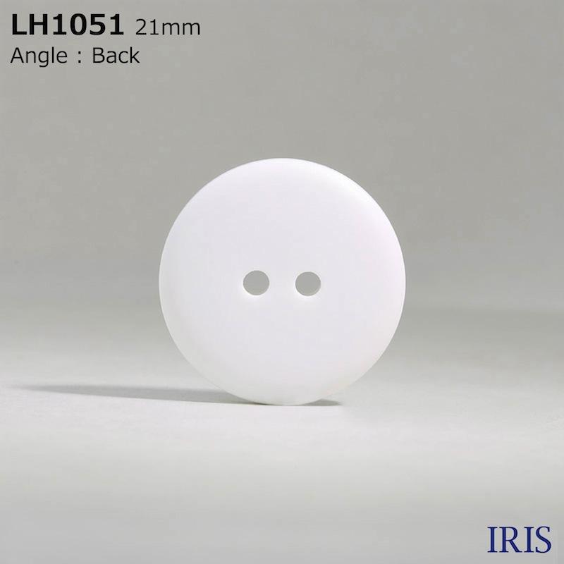 LH1051 カゼイン樹脂 表穴2つ穴ボタン  8サイズ1色展開