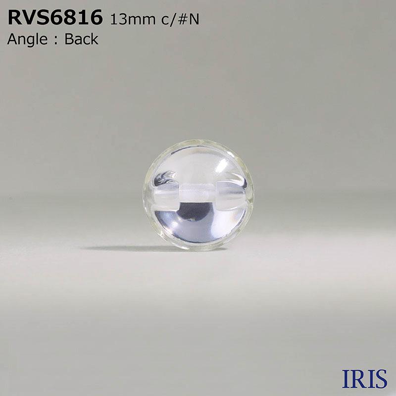 RVS6816 ポリエステル樹脂/ポリカーボネート樹脂 トンネル足ボタン  3サイズ2色展開