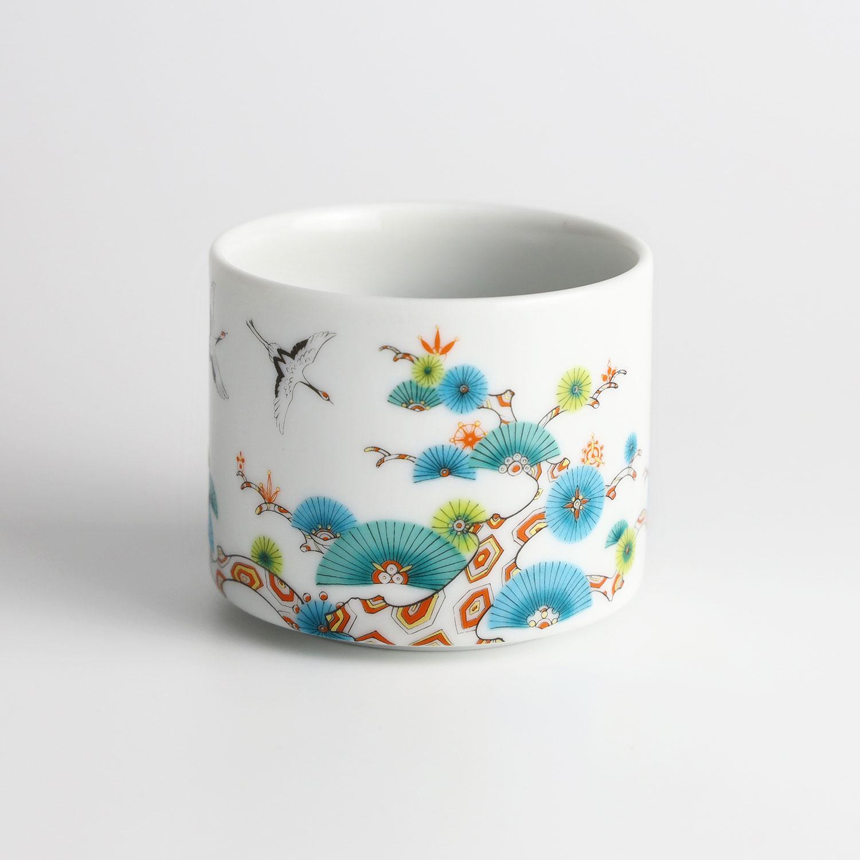 松と鶴 カップ