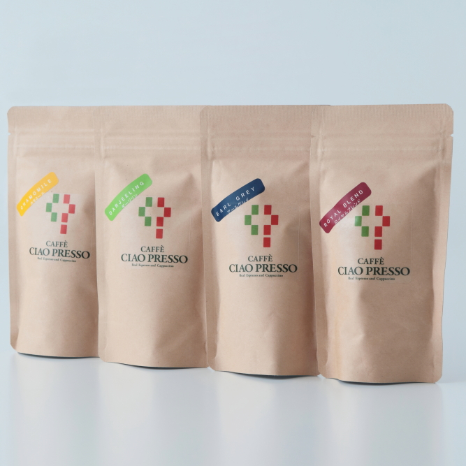 【カフェチャオプレッソ】 紅茶4種ティーバッグアソートセット