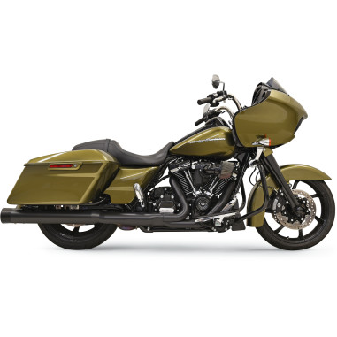 Bassani BLACK/BLACK DNT® STRAIGHT CAN MUFFLERS