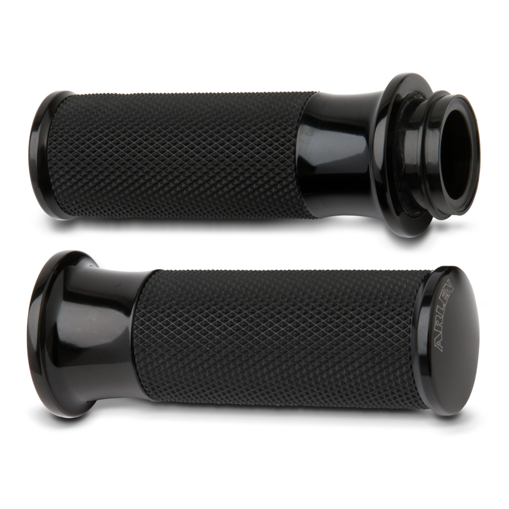 Smooth Fusion Grips-  Chrome&Black