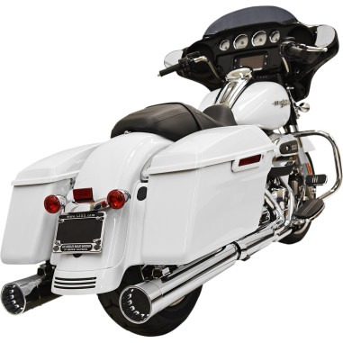 Bassani CHROME/CHROME DNT® STRAIGHT CAN MUFFLERS
