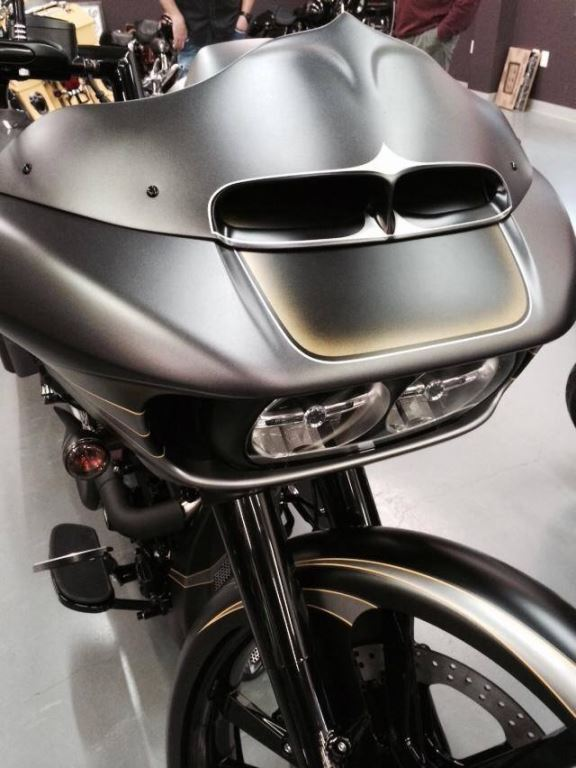Harley  In Your Face Road Glide Headlight Bezel 2015 To Present
