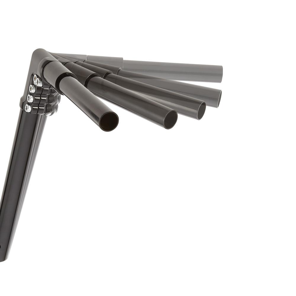 "12"" Modular Drag Bars -  Chrome&Black"