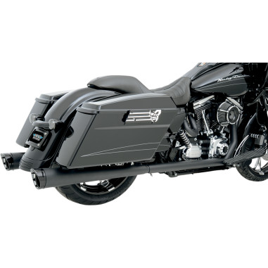 Bassani BLACK/BLACK/NATURAL +P BAGGER STEPPED TRUE-DUALS WITH POWER CURVE