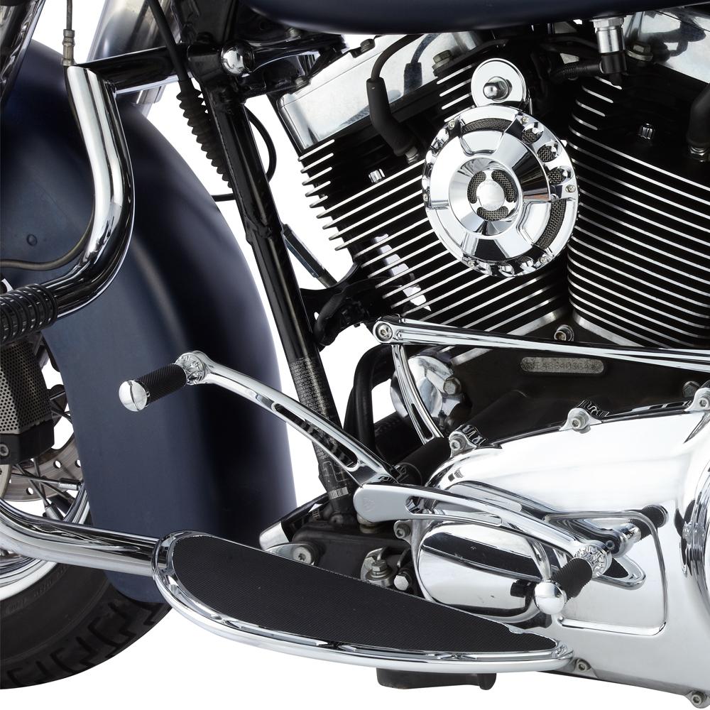 Beveled Fusion Shifter / Brake Peg -  -  Chrome&Black