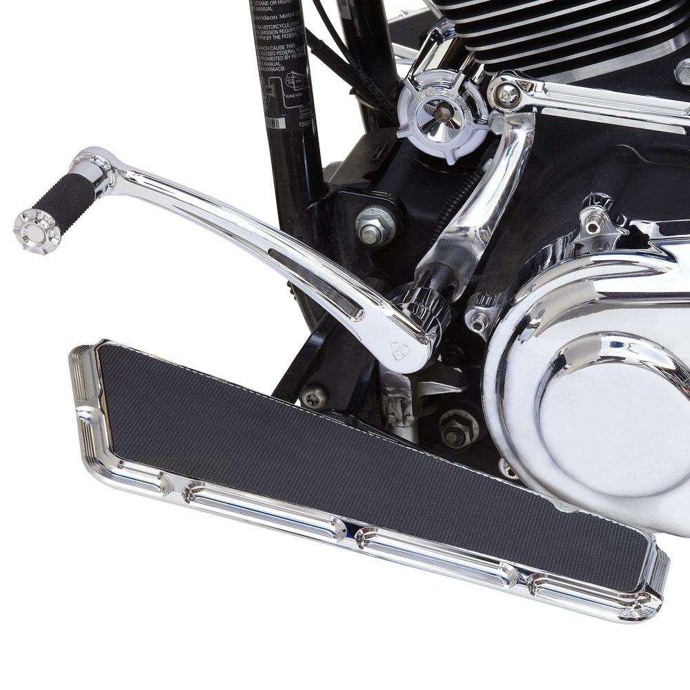 Beveled Re-Usable Billet Oil Filter - Chrome &Black