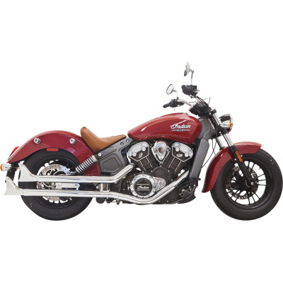 BASSANI XHAUST  Fishtail Mufflers  Fishtail Slip-On Mufflers
