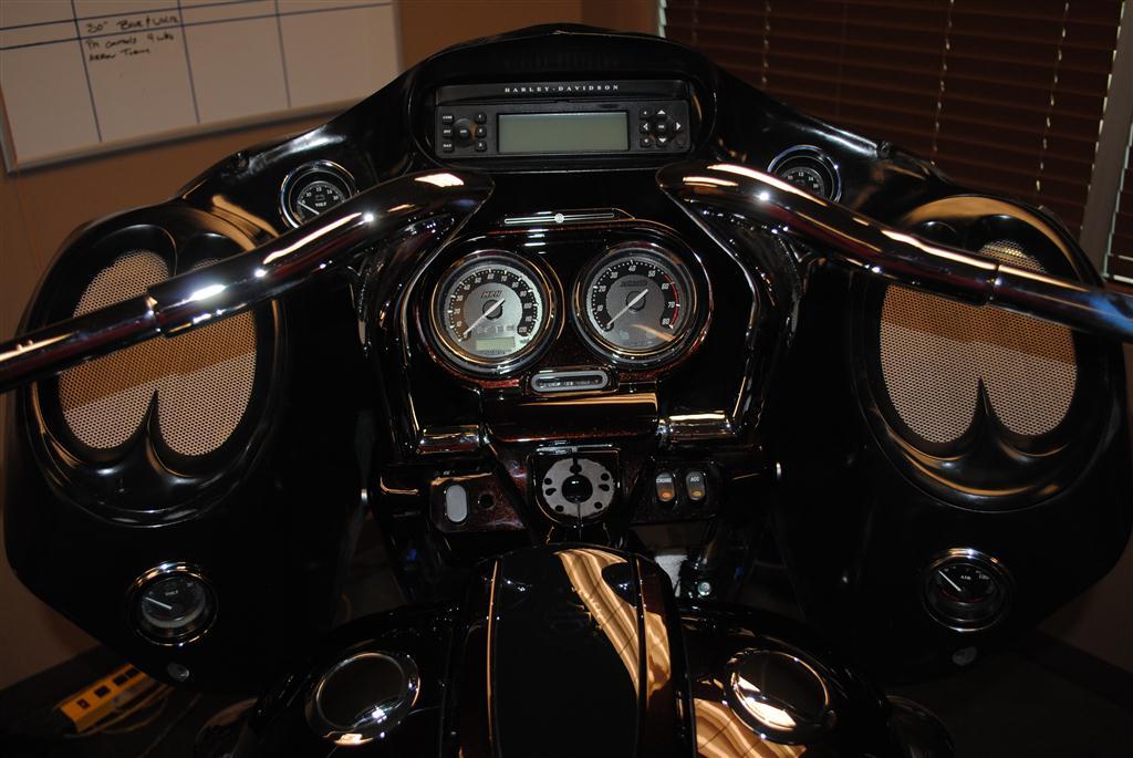 Dirty Road Glide 6 x 9 Inner Fairing