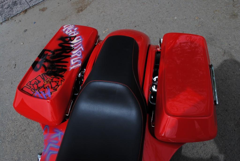 Hot Rod Saddle Bag Lids