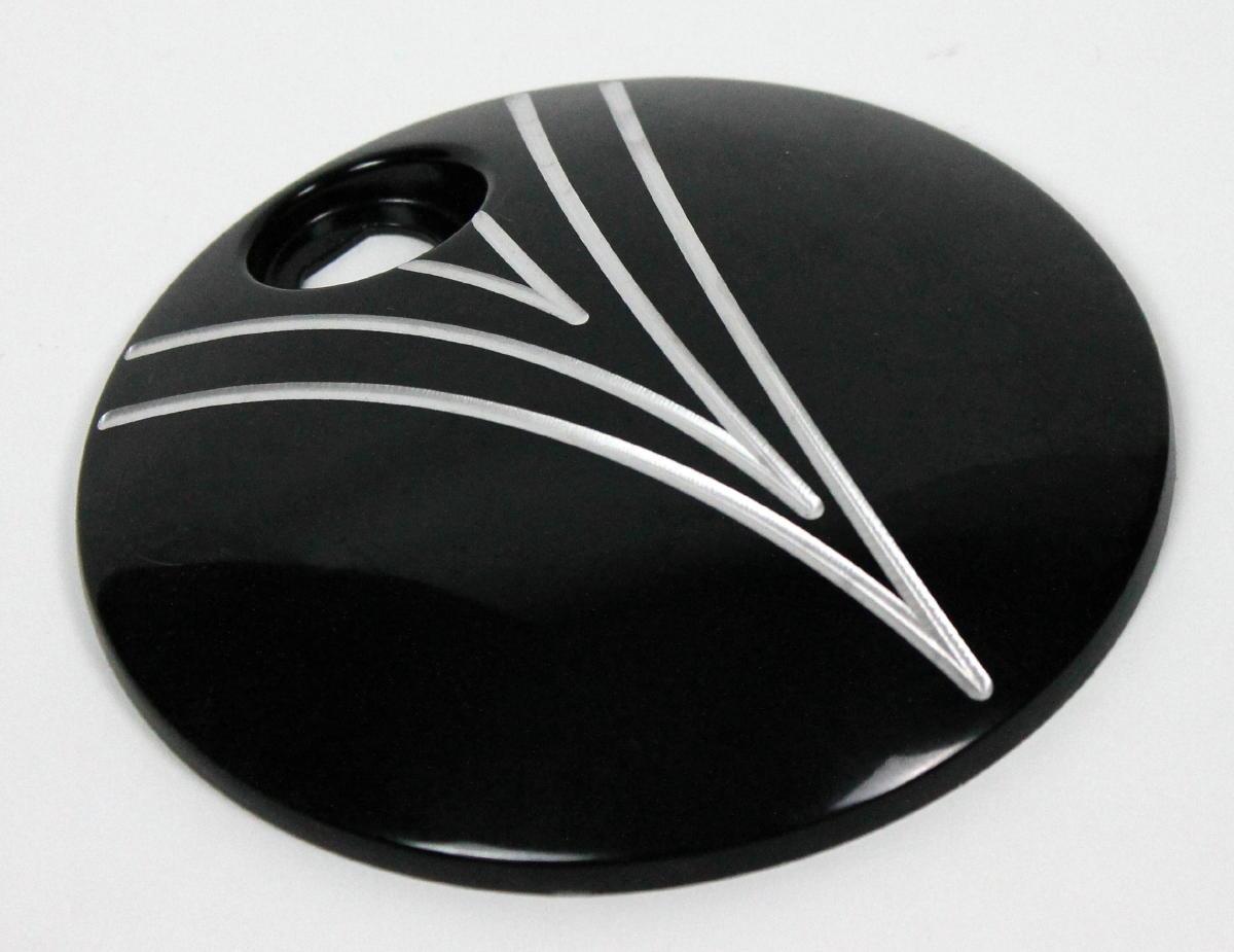 JH クロムEO燃料ドア ツーリングバイク2008〜2017y ブラック ファンデザイン