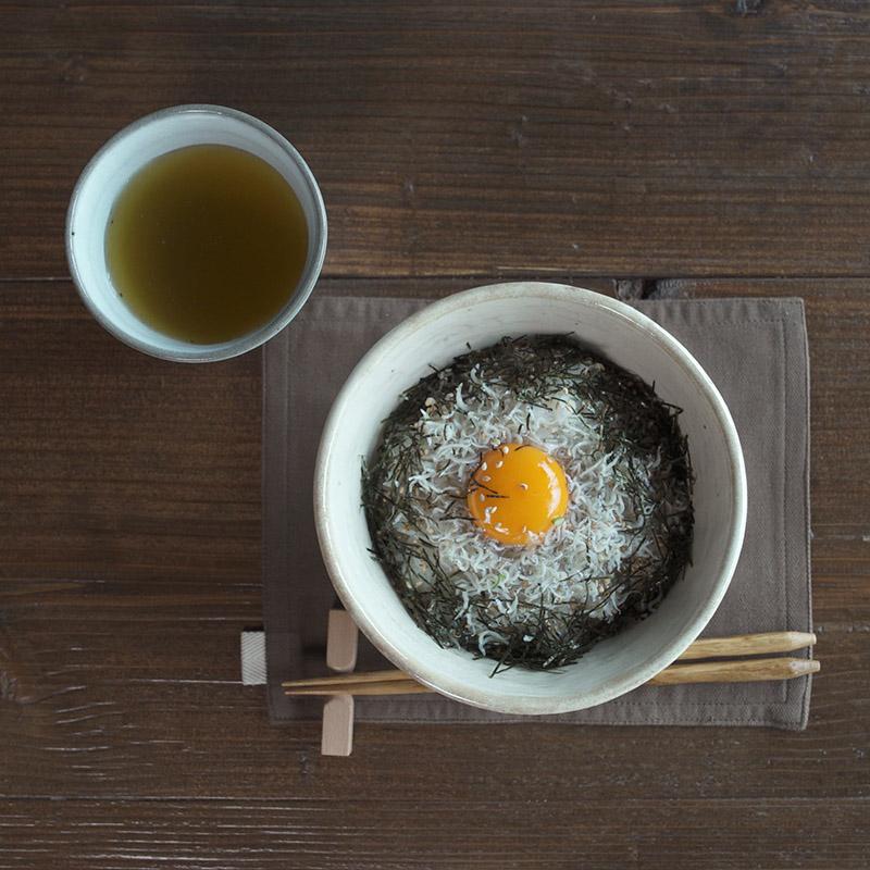 リンカ/丼(白練)