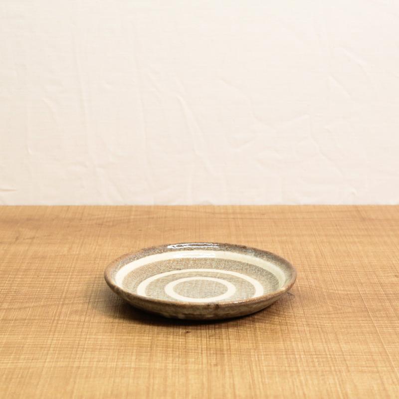グルグルおやつ皿/チョコ