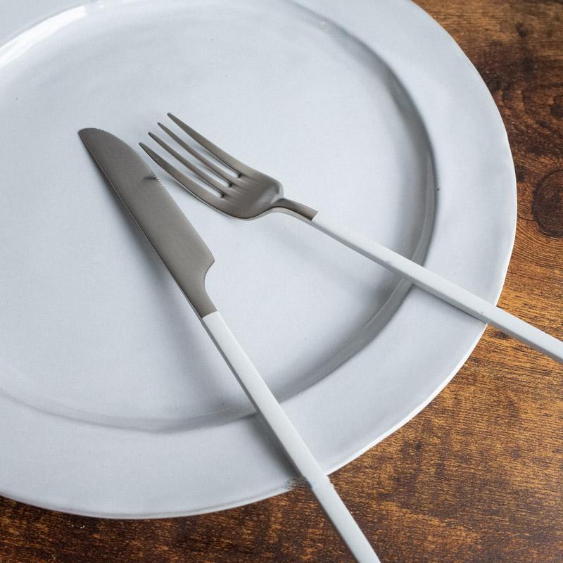 Edge line/Cutlery set/WH(ホワイト)
