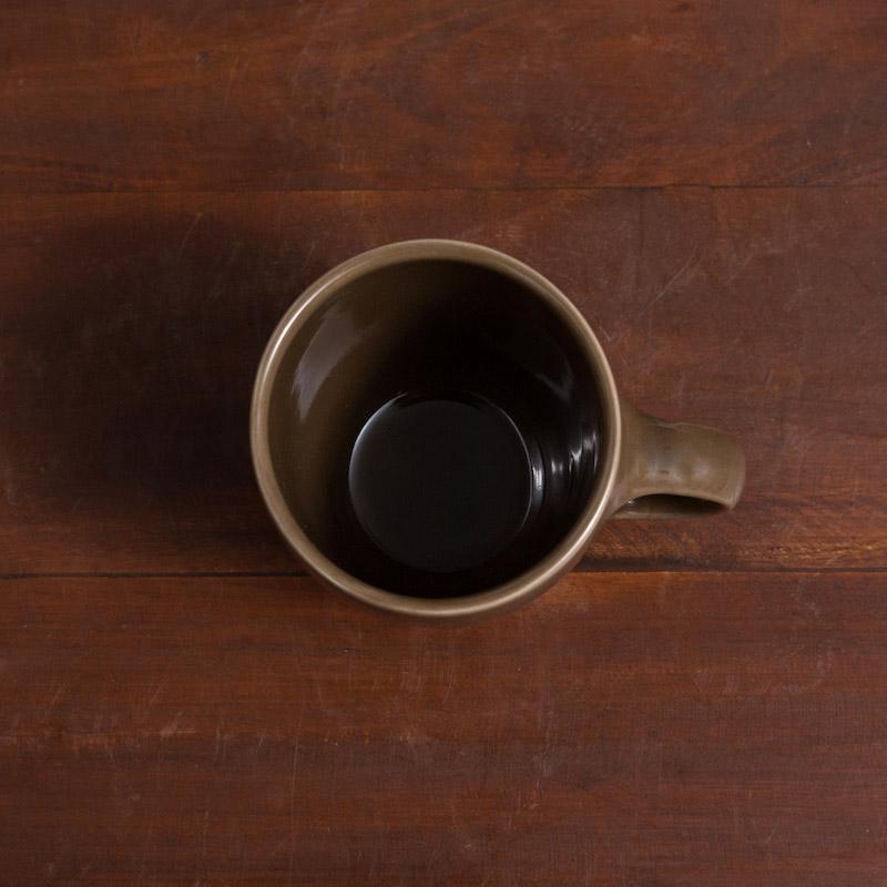 TOPO/マグカップ300ml(ブラウン)