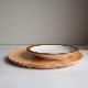 WOOD PLATE/25.5cmプレート(ナチュラル)