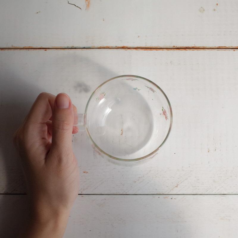 プチローズ/耐熱ガラスマグS