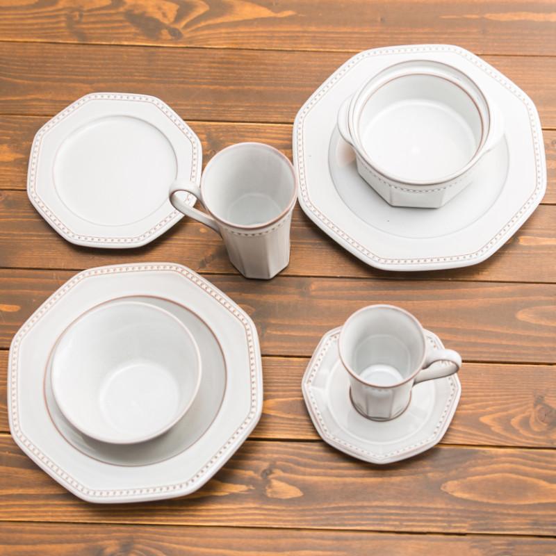 Coline/グラタン皿/ネージュ(白)