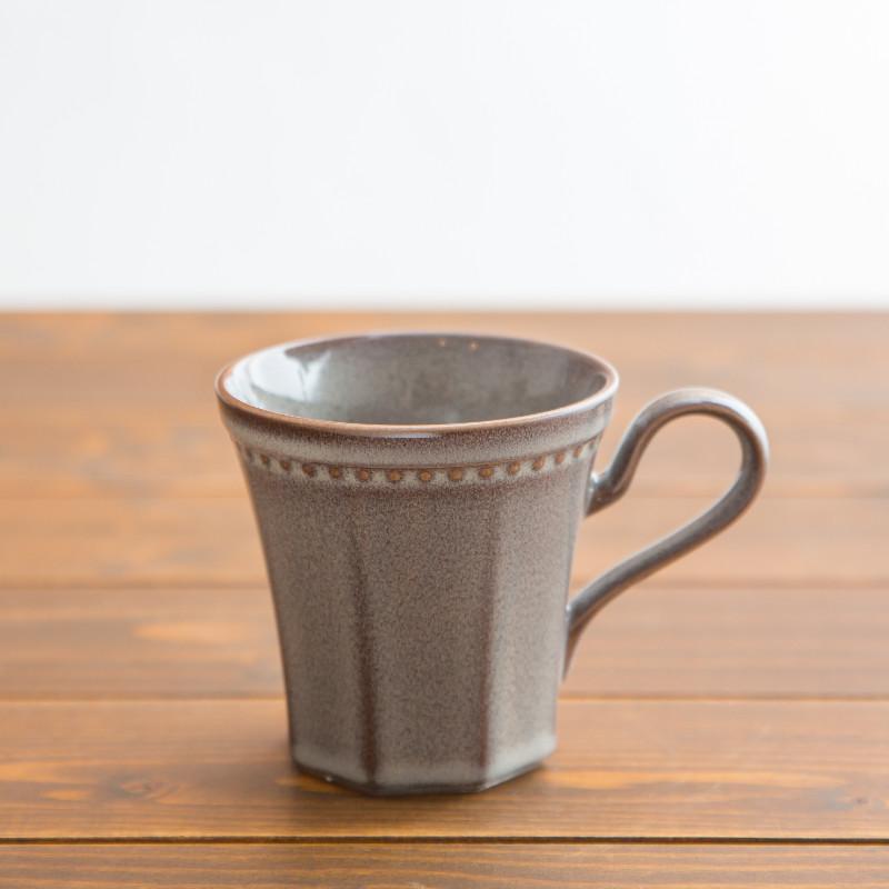 Coline/マグカップ/エタン(グレー)