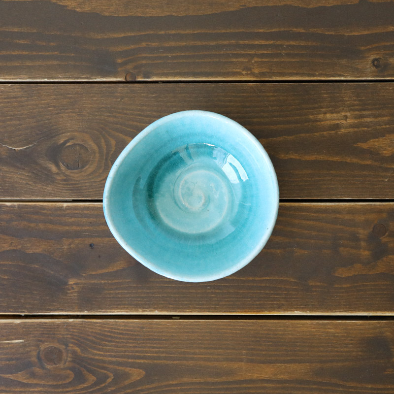 トルコブルー/小鉢(ブルー)