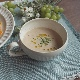 粉引削ぎ目/スープカップ