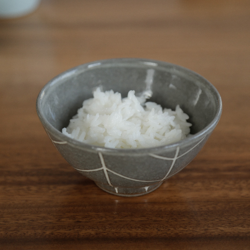 kokage/飯碗/グレー