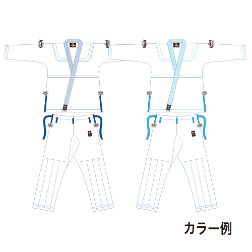 セミカラーオーダー柔術衣