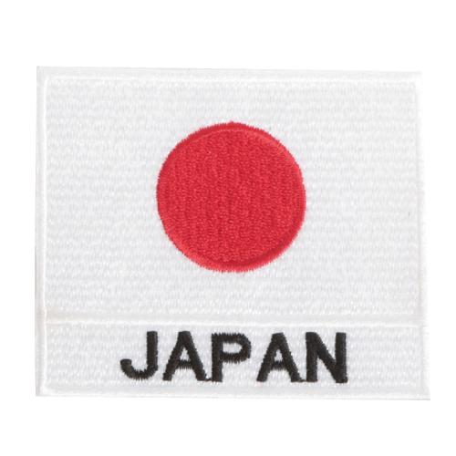 日の丸JAPAN刺繍ワッペン