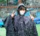 【オリジナルグッズ】レインポンチョ (カワウソ&タツノオトシゴ)
