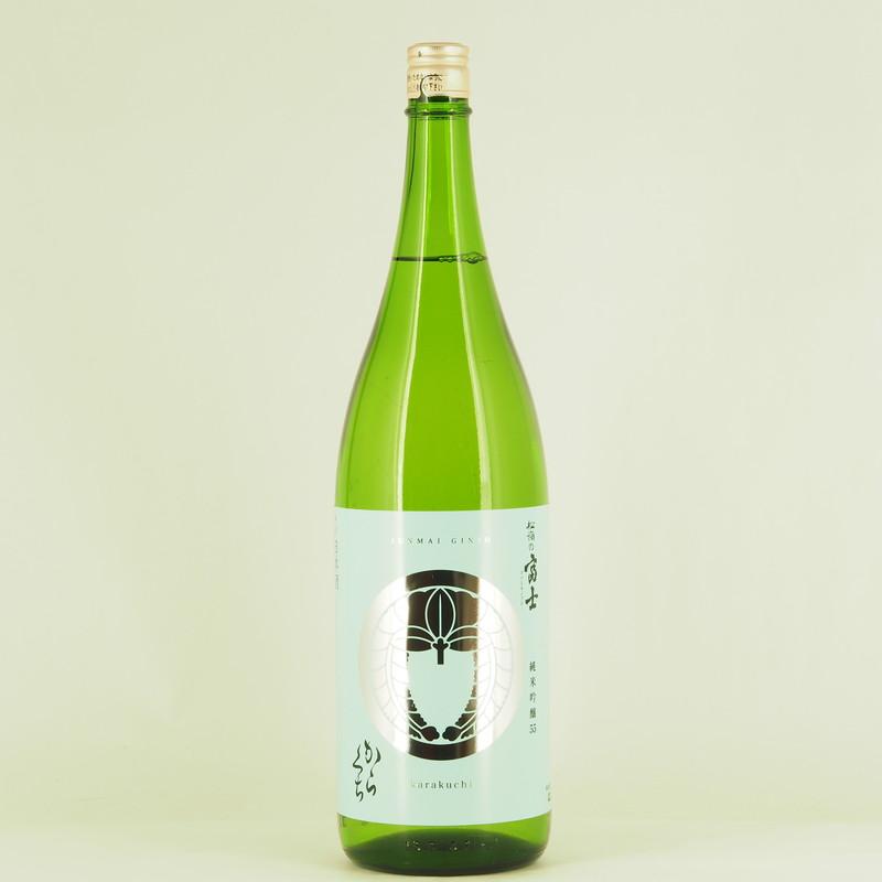 松嶺の富士 純米吟醸 からくち 1.8L