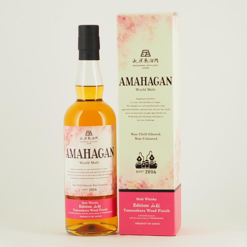 AMAHAGAN World Malt Edition 山桜 700ml 【箱入り】
